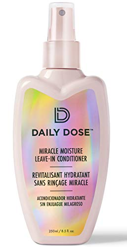 Daily Dose Miracle Moisture Spray Leave-In Conditioner Detangler (8.5oz) Paraben Free, Phthalates Free, Cruelty Free, Vegan (Daily Leave In Conditioner For Natural Hair)
