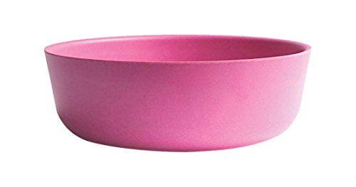 EKOBO Biobu 20 oz Bambino Bowl Set (4 Pack), Rose