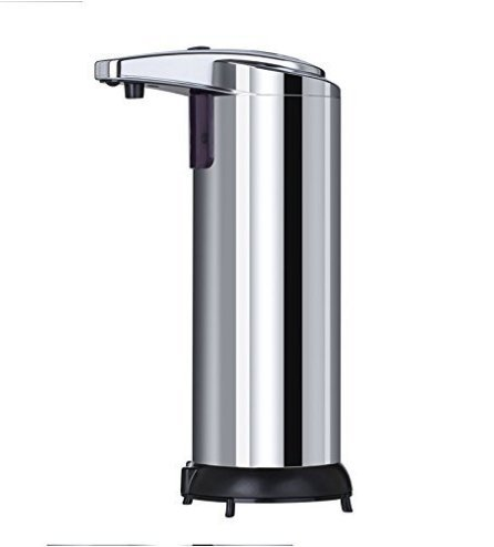 Spa Fitness Essentials Stainless Steel Smart Sensor countertop soap Dispenser for Kitchen and Bathroom by Spa Fitness Essentials (Image #3)