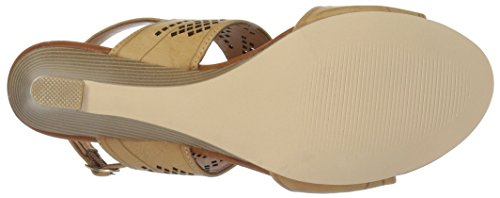 Athena Alexander Womens Sparce Wedge Sandal Tan