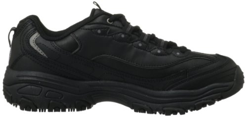 Work US Black M for 10 Work Slip Shoe Women's D'Lite Resistant Skechers B7qwSx