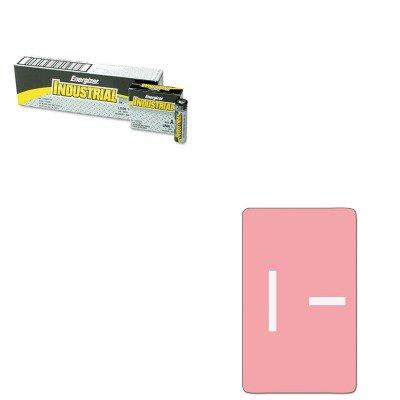 UPC 510001274305, KITEVEEN91SMD67179 - Value Kit - Smead Alpha-Z Color-Coded Second Letter Labels (SMD67179) and Energizer Industrial Alkaline Batteries (EVEEN91)