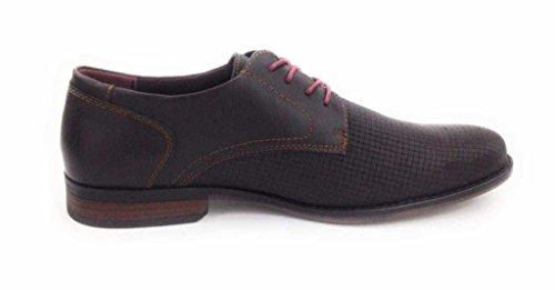 TOM TAILOR 2780303/00005 - Zapatos de cordones para hombre 00005Mokka
