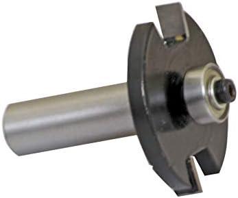 2mm Schlitzfr/äser Nutfr/äser f/ür Oberfr/äser 2x41mm Schaft 12mm