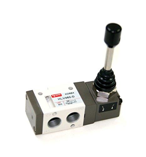 (PneumaticPlus HLV461-S, 3 Port 2 Position Air Directional Control Valve 1/4