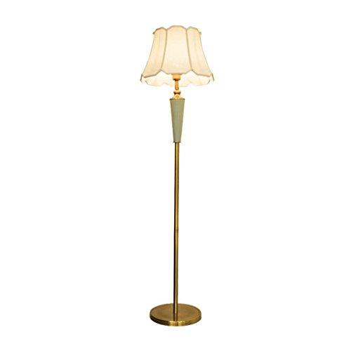 FORWIN Floor Lamp- American Retro Floor Lamp Living Room Bedroom Bedside Lamp Vertical Floor Table Lamp E27 Indoor ()