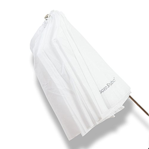 UNPLUGGED STUDIO 45inch Collapsible Translucent Umbrella by UNPLUGGED STUDIO