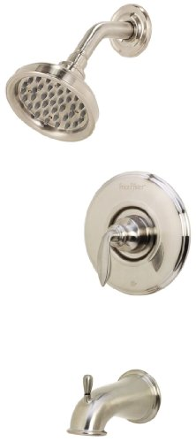 Bronze Avalon Single Handle Shower - 8