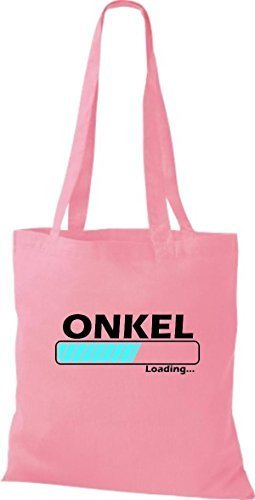 Shirtstown Jute Fabric Bag Loading Onkel Many Pink Colors