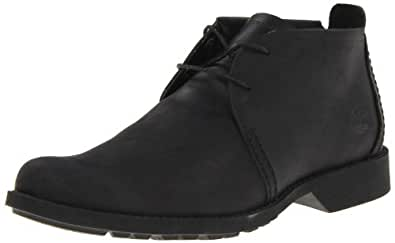 Timberland Men's EK City Lite Chukka Boot,Black Oiled,8 W US