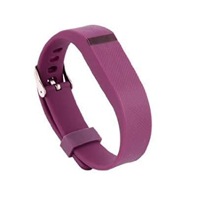 Replacement Wrist Band Buckle for Fitbit Flex - Code001 purple