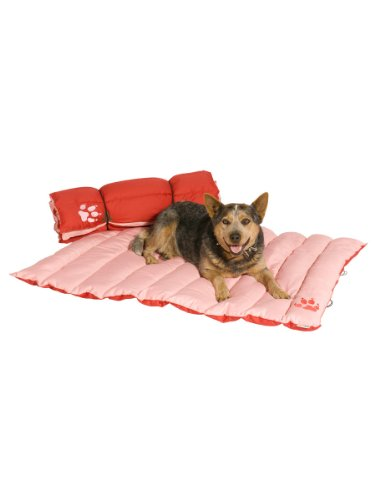 Kakadu Pet Adventure Mat Dog Bed, 47-Inch by 31 1/2-Inch Extra Large, Rouge and Blush, My Pet Supplies