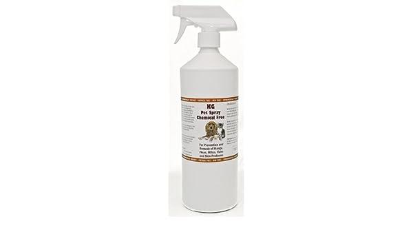 KG Pet Spray para mange, pulgas, ácaros y problemas en la piel ...