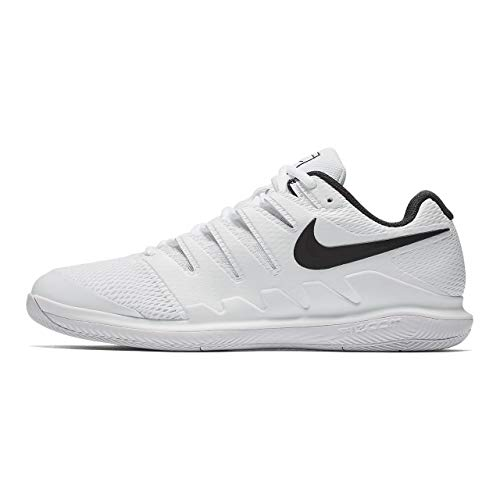 Price comparison product image Nike Air Zoom Vapor X Hc Wide Mens Ah9066-101 Size 8 (White / Black-vast Grey-Summit White,  8 E US)