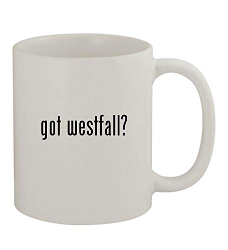 got westfall? - 11oz Sturdy Ceramic Coffee Cup Mug, - Activity Stacy Westfall Ball