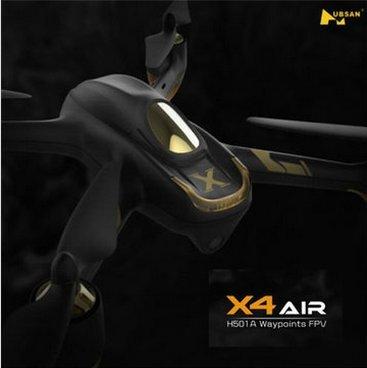 (VANGOOD)Hubsan X4 AIR H501A +VANGOODロゴ入りmicroUSBメモリ スマホによるコントロールリアルタイム FPV 1080P HD カメラ GPS オートコントロール機能付き ドローン ラジコン RTF 正規 (モニター付きトランスミッターあり)