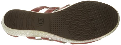 Bruco Womens Sandalo Con Zeppa Westwood Stampa Paprica
