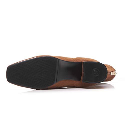 vrouw Mnh03705 1to9 sandalen Wig Bruine S7IIqHd