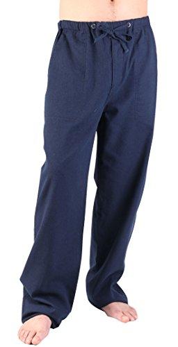 Washed Linen / Cotton Pants - 3