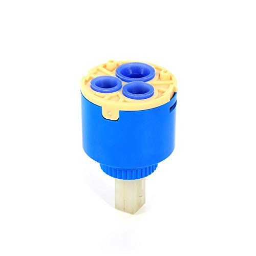 (35/40mm Ceramic Cartridge Faucet Replacement Water Mixer Tap Inner Control Faucet Valve(40mm))