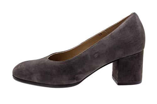 Piesanto Salón Cacao Ante Mujer Cómodo Zapato 185301 w7STP1q