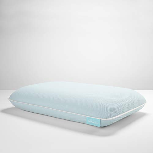 Tempur-Pedic TEMPUR-ProForm + Cooling ProLo Pillow, Memory Foam, Queen, White