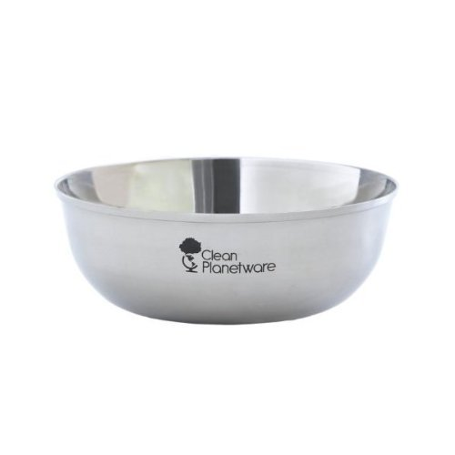 Stainless Steel Dinnerware - Soup/Cereal Bowl 4pk