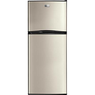 "Frigidaire FFTR1022QM 24"" Top-Freezer Refrigerator, Silver Mist"