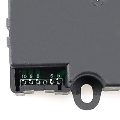 HVAC Air Heater Blend Door Actuator Replaces 1573989 604140 20826182 1573989 for Chevy Traverse 2009 2010 2011 2012, GMC Acadia 2007-2012, Buick Enclave 2008-2012: Automotive