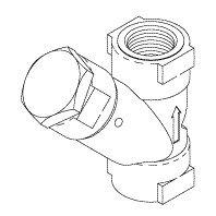 Strainer (Water - 1/4'') VPS011