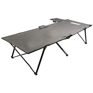 Coleman-Camping-Cot-with-Side-Table-Pack-Away-Folding-Cot-with-Table-and-Cup-Holder