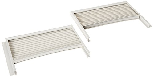 GENUINE Frigidaire 5304475241 Air Conditioner Window Side Curtain and Frame