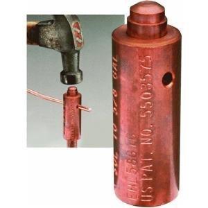 - Ground Rod Connector, Hammer Lock, Copper