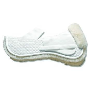 Mattes Sheepskin Correction Half Pad - Dressage - WHITE\L