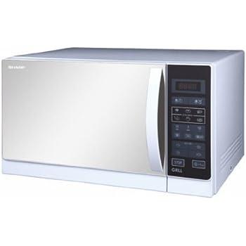 Amazon.com: Sharp r-20mt 20-liter 800 W Horno Microondas, de ...