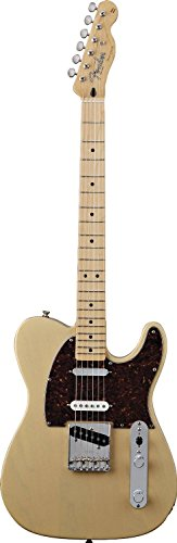 Fender Deluxe Nashville Telecaster Electric Guitar, Maple Fingerboard - Honey Blonde