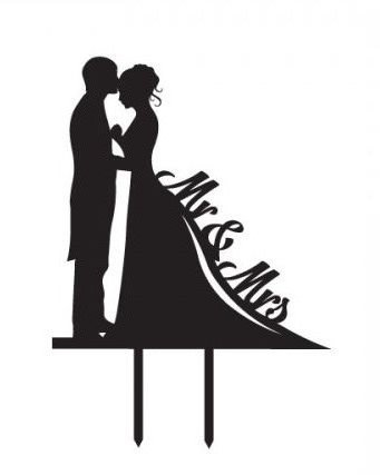 ShinyBeauty Cake-Topper-Engagement,Bride and Groom Cake Topper,Acrylic Cake Topper Bride Groom Cake