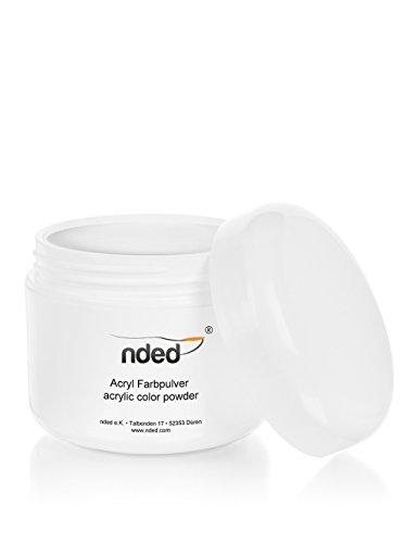 Polvo Acrilico para Uñas de Porcelana de NDED, Claro, 30 g, transparente, endurece al contacto con el aire: Amazon.es: Belleza