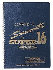 - C.S. Petersons Super 16 Scoremaster Baseball/Softball Scorebook