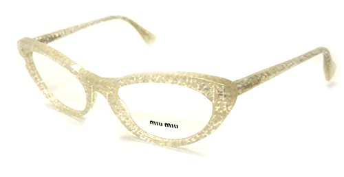 Miu Miu MU03LV Eyeglasses-KAR/1O1 Transparent Glitter - Eyewear Miu Prescription Miu
