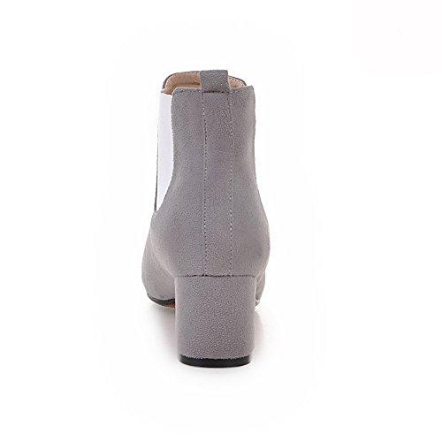 1TO9 1TO9Mns02150 - Sandalias con cuña mujer gris