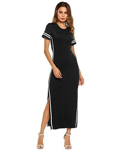 Open Back Sheath Dress - 5