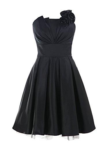 Pleated Satin Top Dress - 9