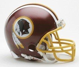 Washington Redskins Replica Mini Helmet w/ Z2B Face Mask