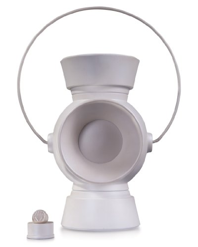 Power Ring Prop (DC Collectibles White Lantern Power Battery and Ring Prop Replica (1:1 Scale))
