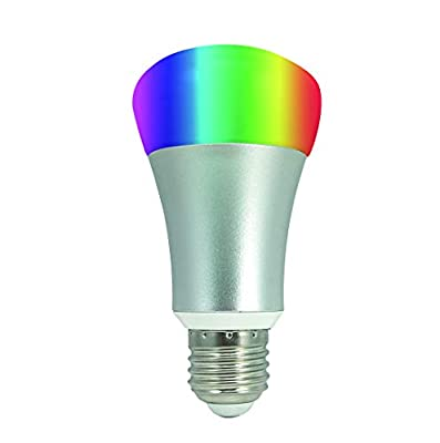 GREENDOT WiFi Smart Light-Multicolor-Compatible with Alexa and Other Assistants Dimmable Multicolored Disco Light - Wake Up Lights & Sleeping Night Light-Smartphone Controlled no hub Required (1)