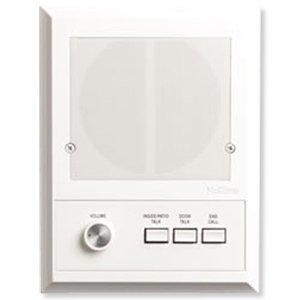 NuTone ISA319WH Outdoor Recessed Intercom Speaker-White