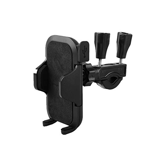 Plus Mi Life Bicycle Motorcycle Bike Handlebar Mount Cellphone Holder USB Charger for Phone