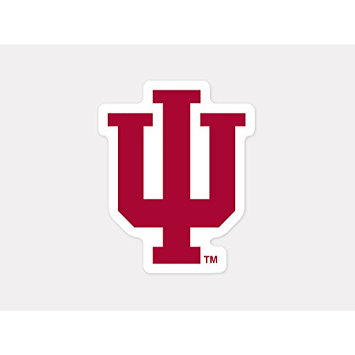 WinCraft NCAA Indiana University Perfect Cut Color Decal, 4