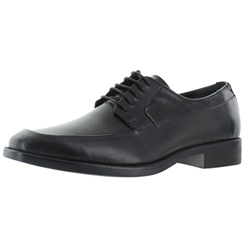 Calvin Klein Elroy Men's Leather Lace-up Oxford Shoes Black Size 14 by Calvin Klein